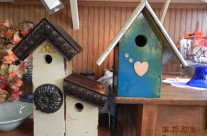 3500 Birdhouses made by Diane Rivers!