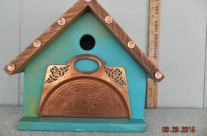 DONATION BIRDHOUSE 2015 for ARTS IN BLOOM